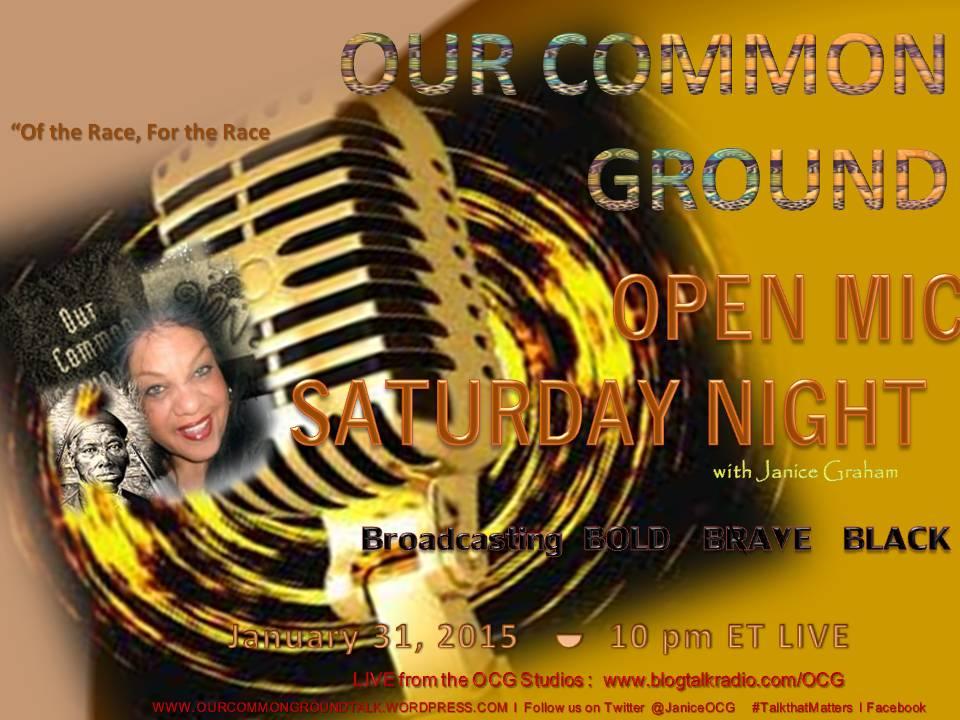01-31-15 Open Mic