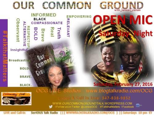 02-27-16 Open Mic
