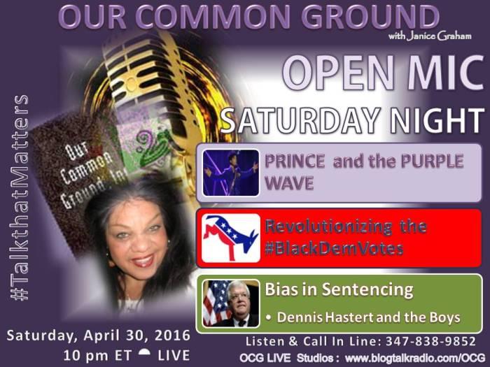 04-30-16  Open Mic