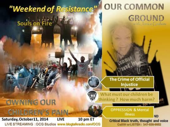 10-11-14 WEEKEND OF RESIST2