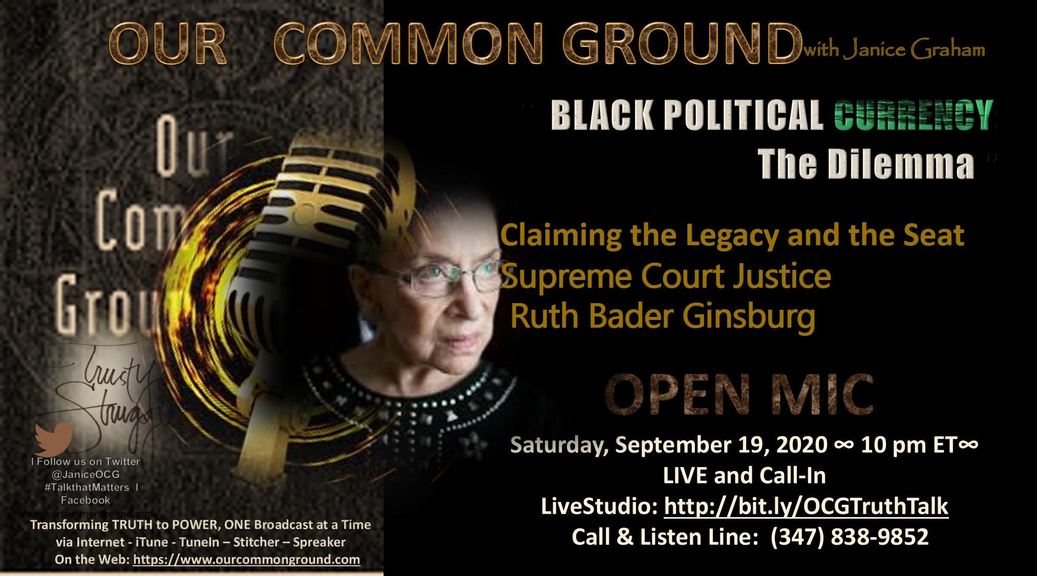9-19-20 Black Political Ginsburg