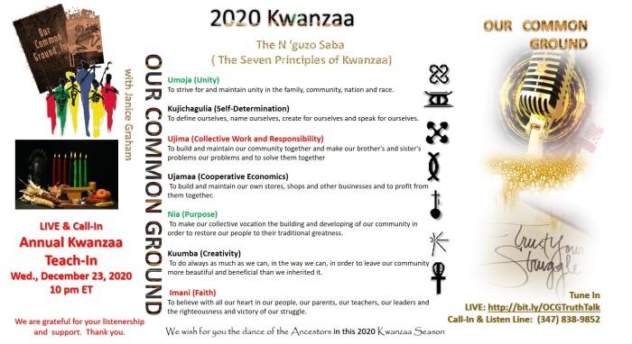Kwanzaa 2020 - 2