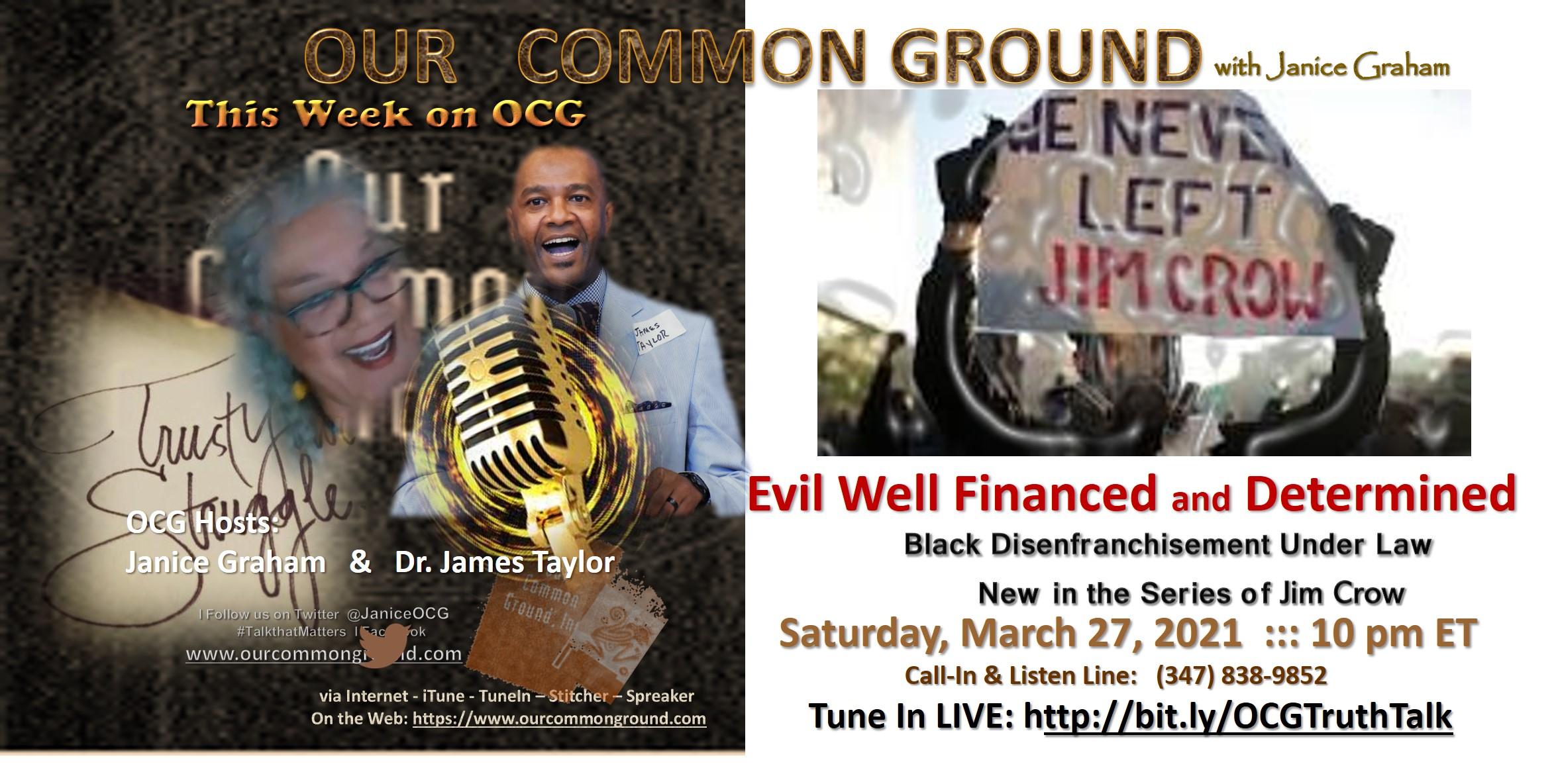 3-27-21 Jim Crow 2