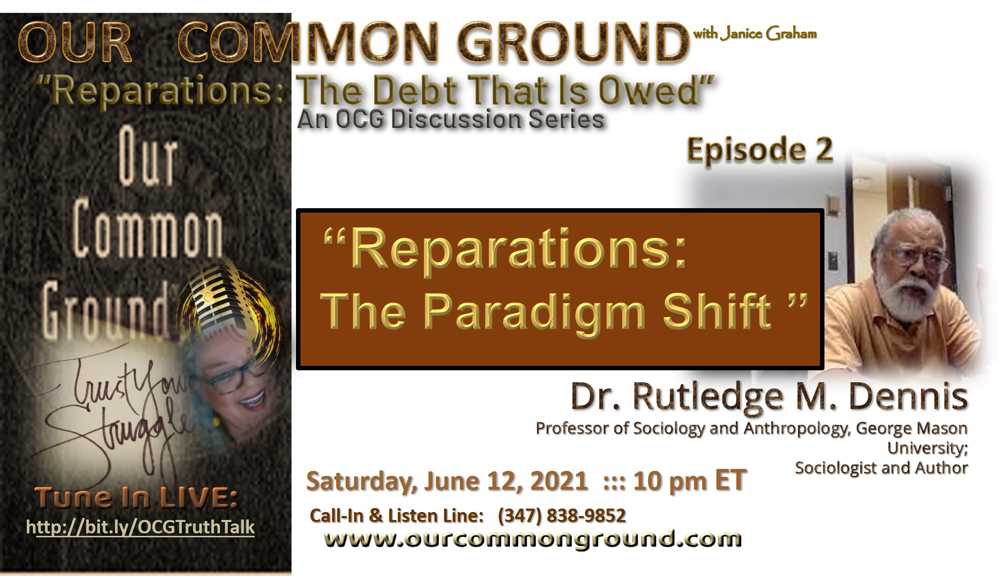 Episode #2: Reparations: The Debt That Is Owed Series