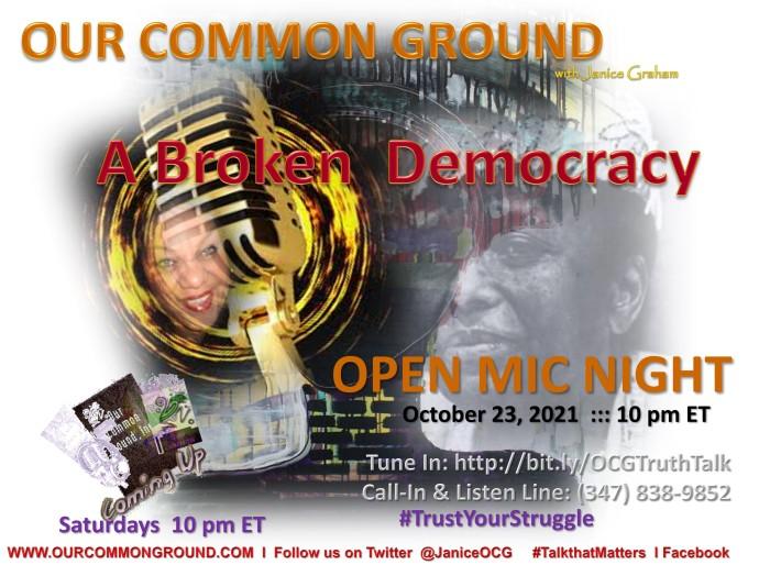 10-23-21 Broken Democracy
